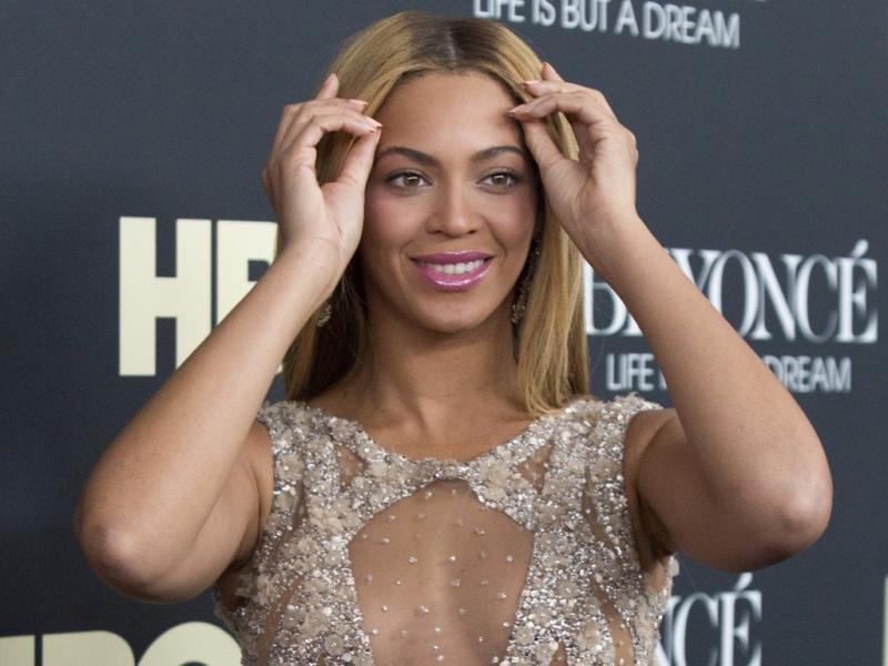 Beyoncé na antestreia do documentário «Beyoncé - Life Is But A Dream» (Reuters)