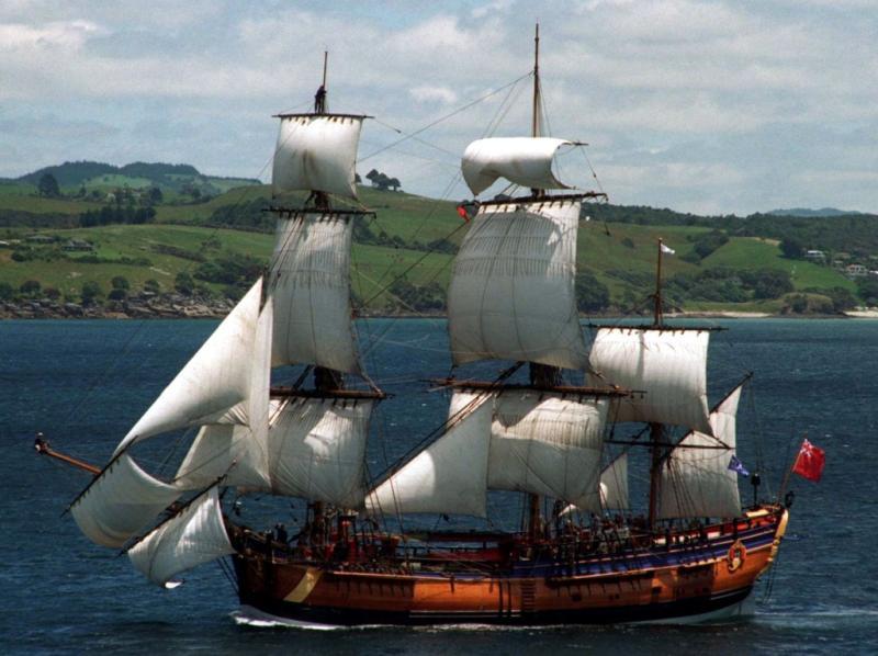 Barco do capitão Cook ( Reuters)