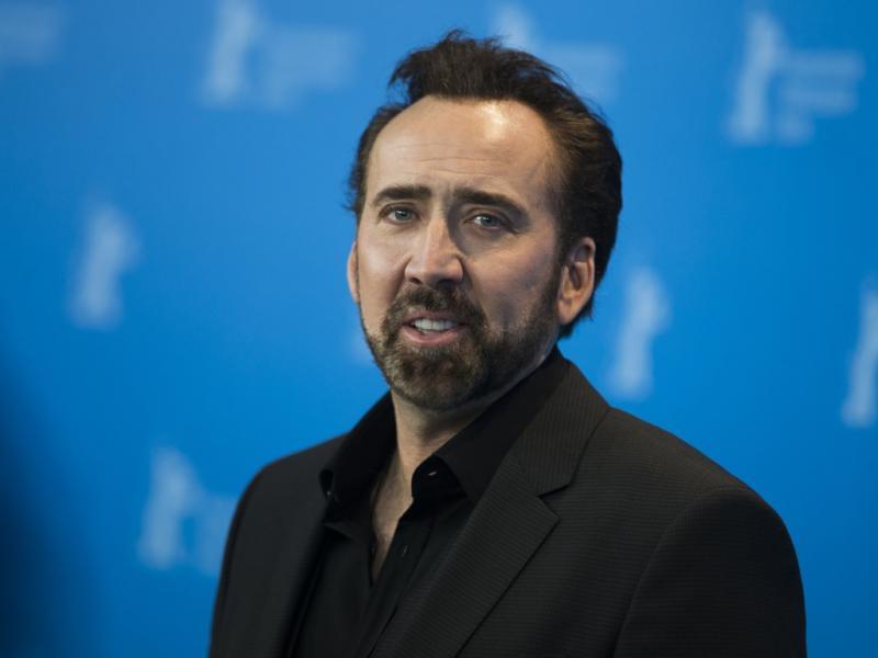 Nicolas Cage no 63º Festival de Cinema de Berlim (Reuters)