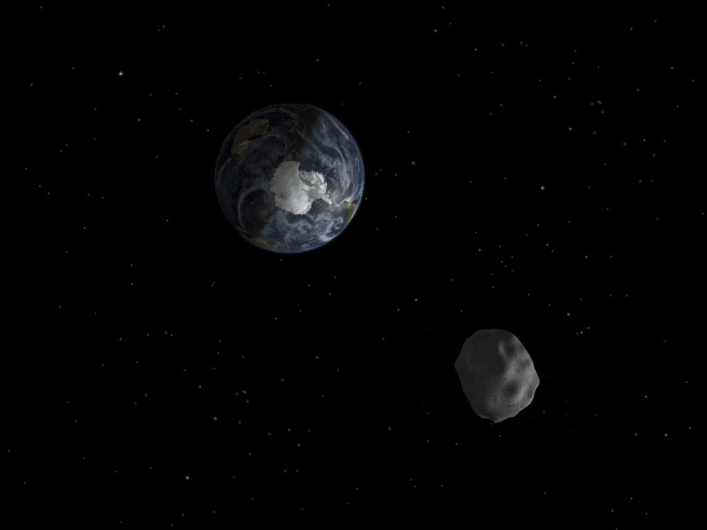 Asteróide «rasa» Terra (NASA)