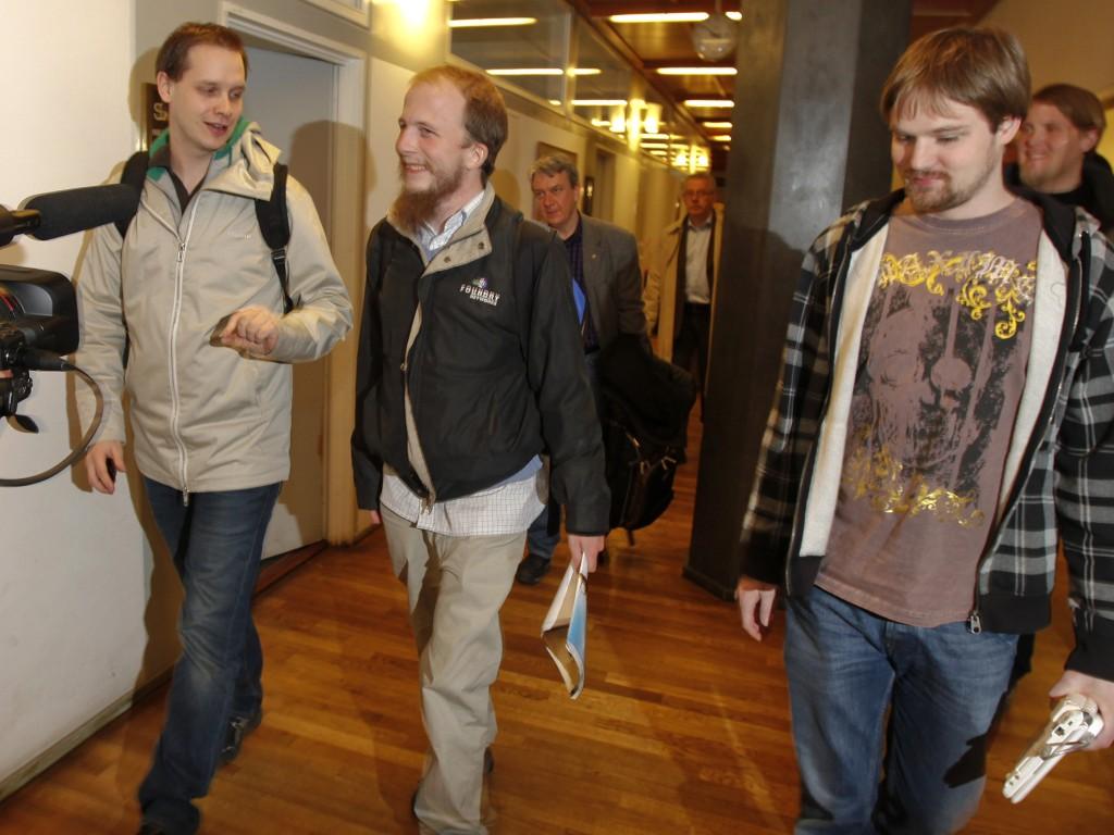 Os fundadores do Pirate Bay (Reuters)