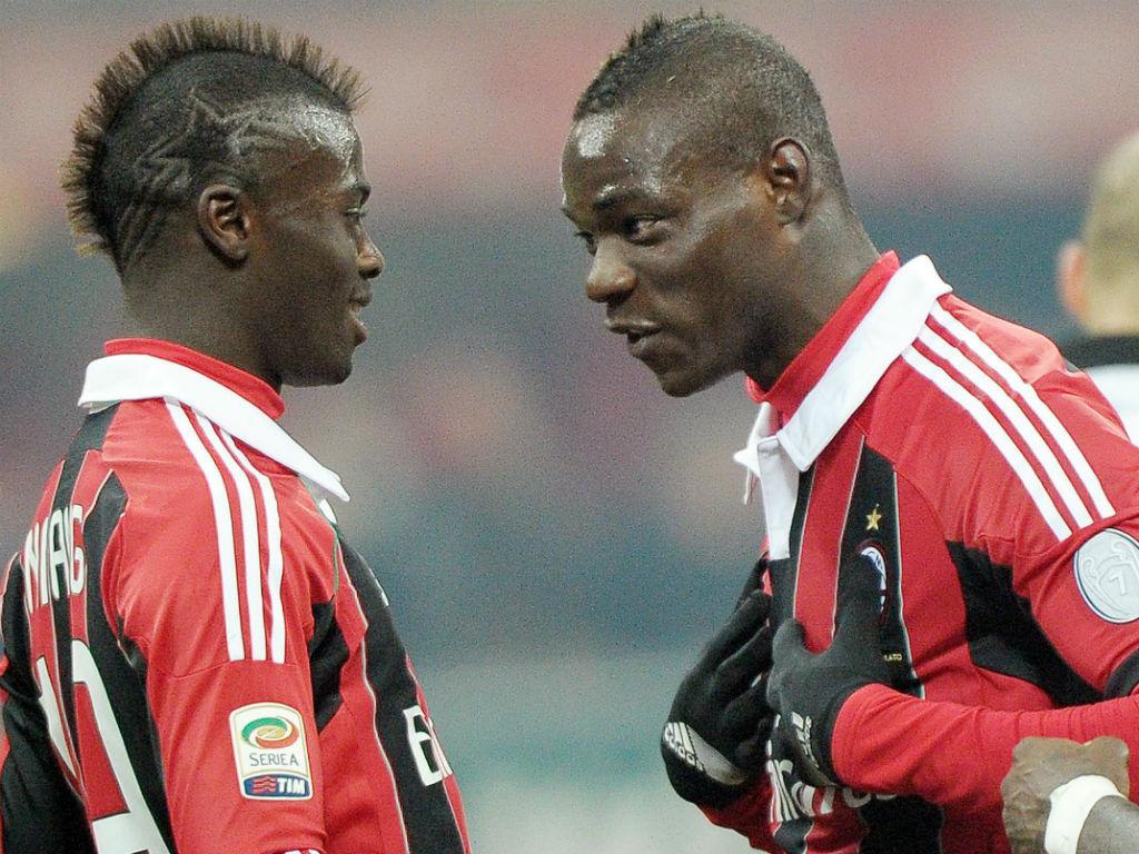 Balotelli e Mbaye Niang
