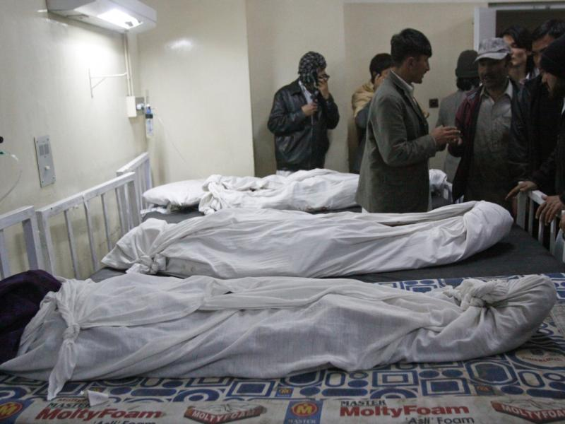 Atentadp bomba no Paquistão