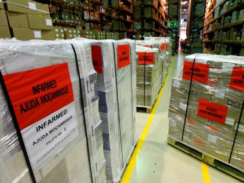 Portugal envia oito toneladas de medicamentos para Moçambique [LUSA]