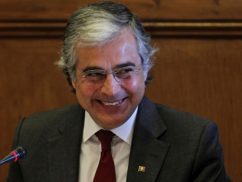Ministro da Defesa Aguiar-Branco no Parlamento