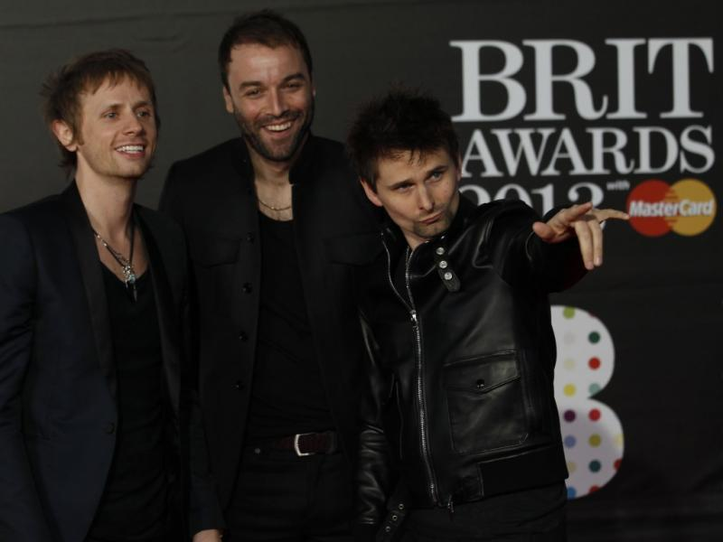 Muse nos Brit Awards 2013 (Reuters)