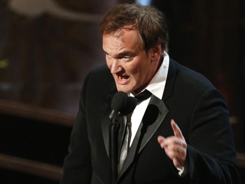 Quentin Tarantino, melhor argumento original com o filme «Django Libertado» (REUTERS)