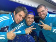 Fábio Coentrão, Cristiano Ronaldo e Pepe