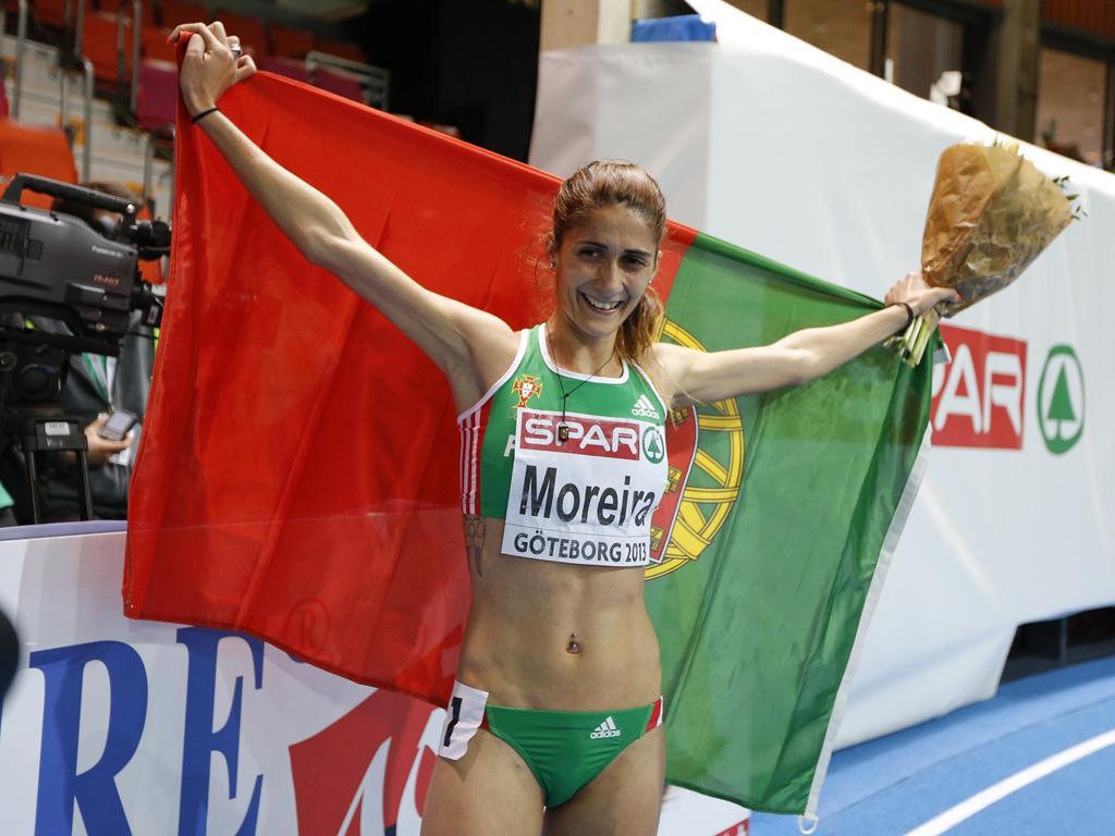 Sara Moreira campeã europeia dos 3000 metros (Reuters/Phil Noble)