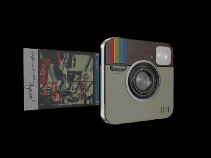 Máquina fotográfica da Polaroid vai ter filtros Instagram