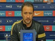 Vítor Pereira em conferência de imprensa