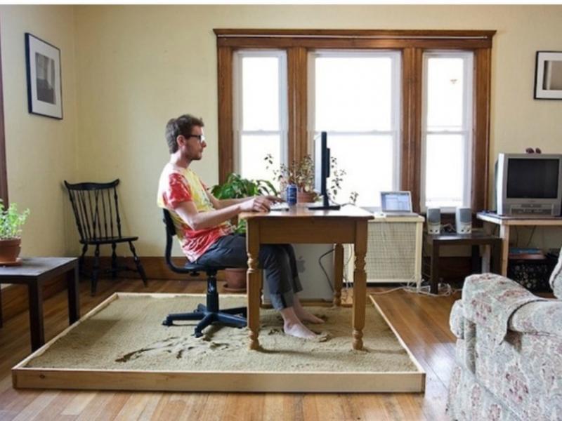 Sinta-se como peixe na água a trabalhar fora do escritório (Blog Hypeness)