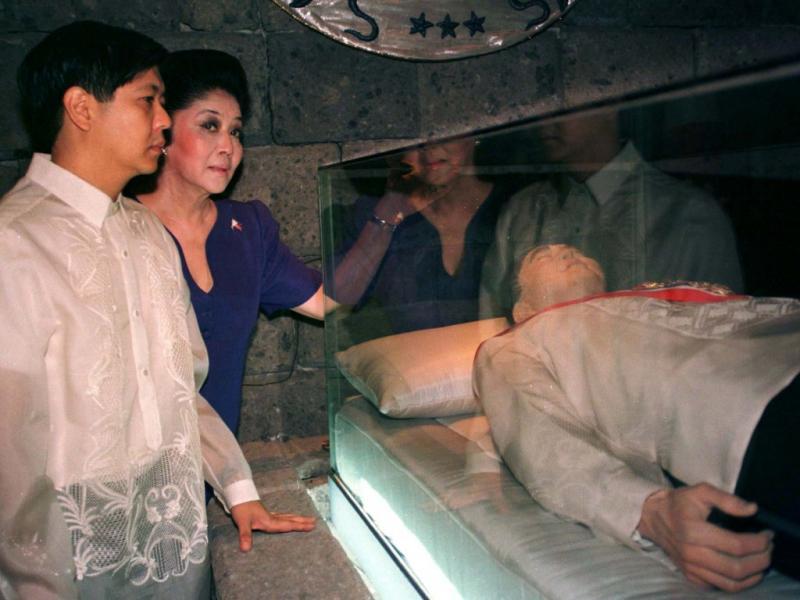 Ferdinand Marcos foi presidente das Filipinas e faleceu em 1989, no Havai (REUTERS)