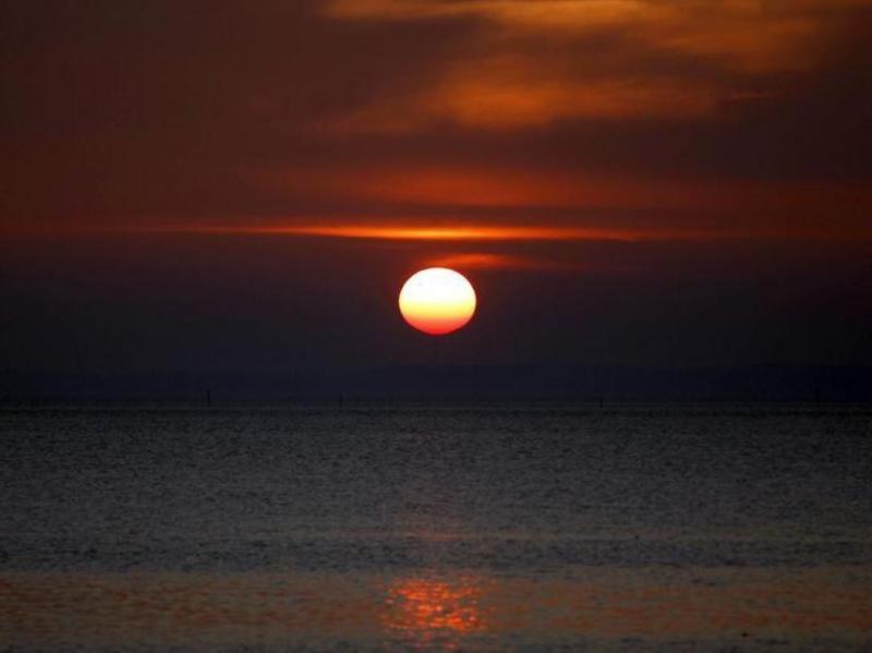 Pôr-do-sol [Reuters]