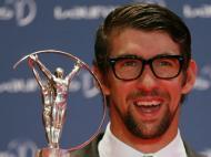 Prémios Laureus: Michael Phelps, no pós-carreira, com um prémio especial