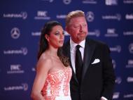 Prémios Laureus: Boris Becker e a mulher