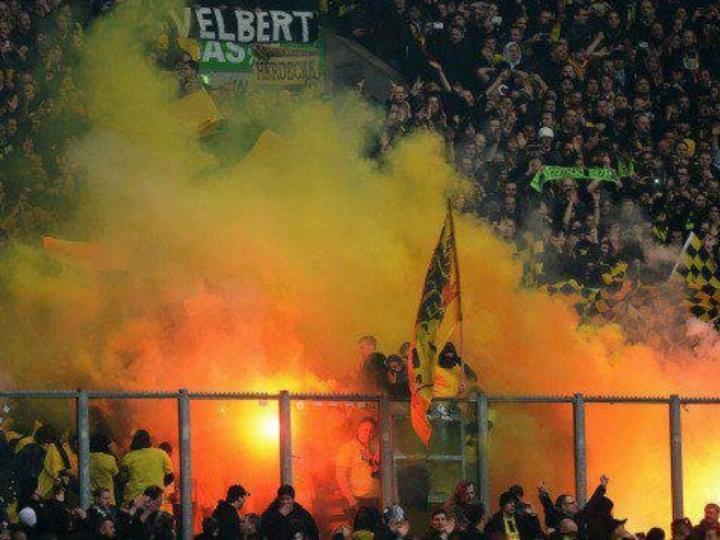 Adeptos do Dortmund