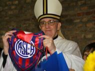 Novo Papa é sócio de San Lorenzo