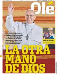 Papa Francisco: a outra mão de Deus