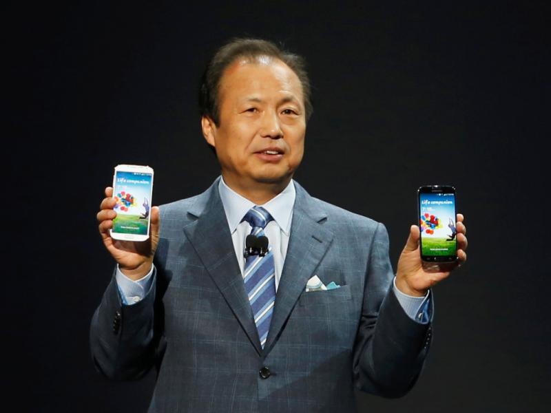 Samsung Galaxy 4 apresentado