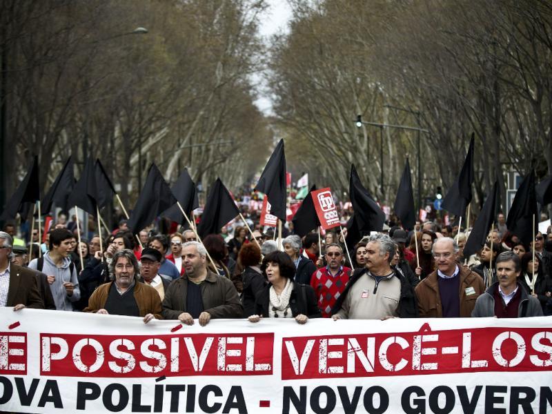 Manifestação da Frente Comum em Lisboa (LUSA/Mário Cruz)
