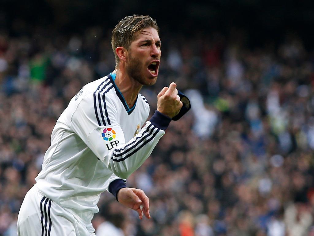 2.º Sergio Ramos: marcou 69 golos