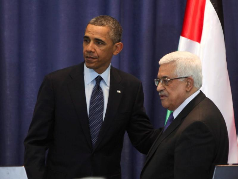 Obama e Abbas (AP)