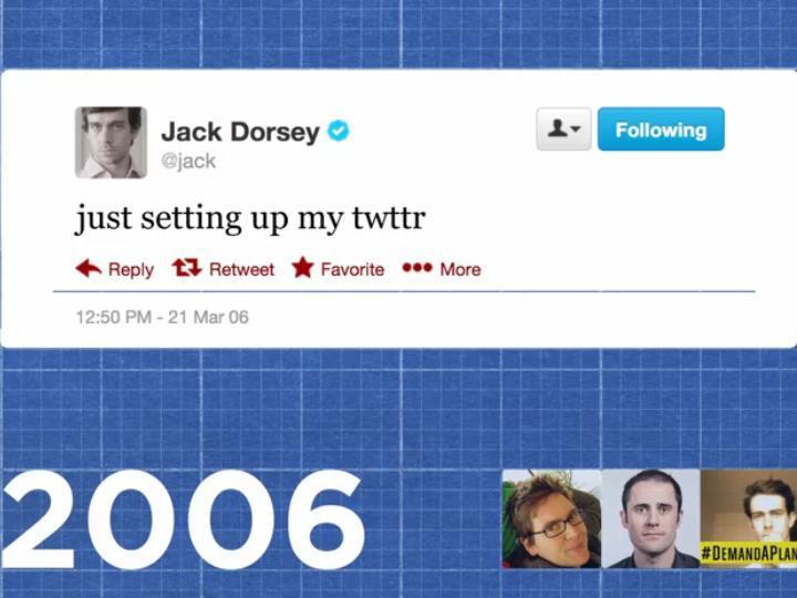 Primeiro tweet da história