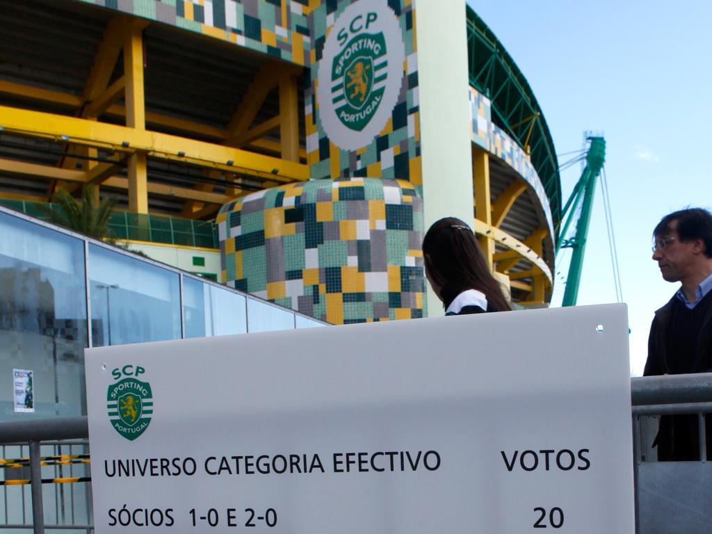 Assembleia geral eleitoral do Sporting (LUSA)