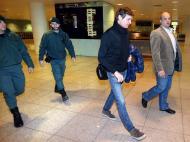 Tito Vilanova já está em Barcelona (EPA/MIGUEL RUIZ)
