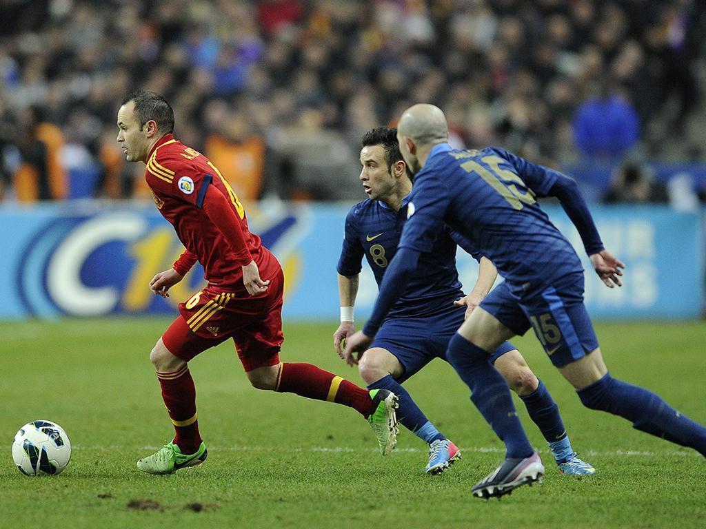 França vs Espanha (EPA)