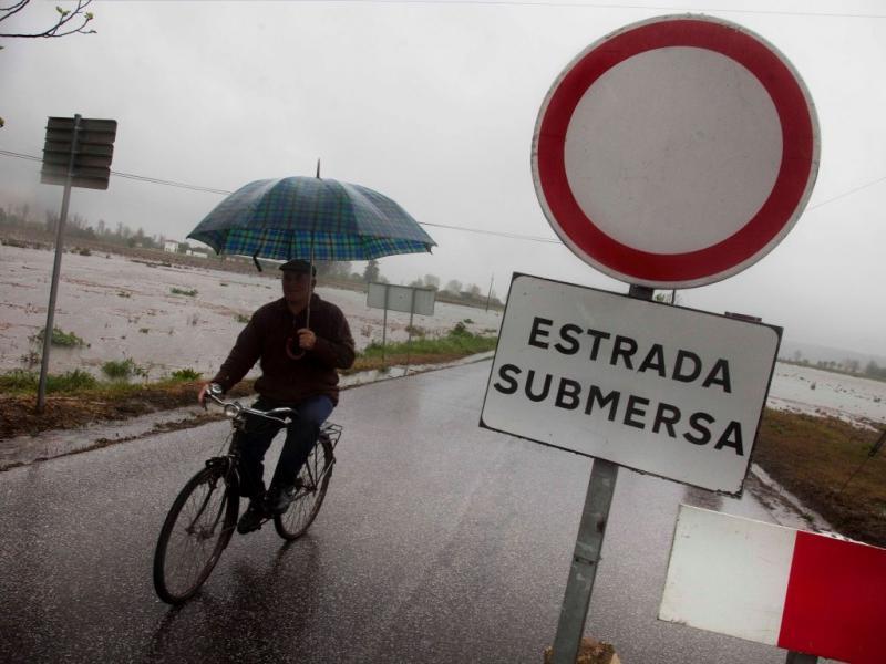 Inundações nas margens do Rio Tejo (LUSA)