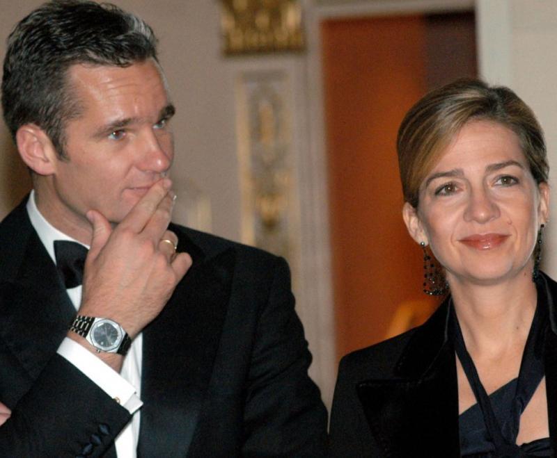 Infanta Cristina e Iñaki Urdangarín Foto: Reuters