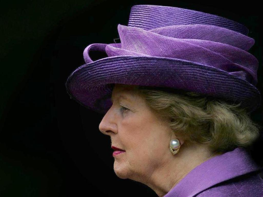 Margaret Thatcher [arquivo Reuters]