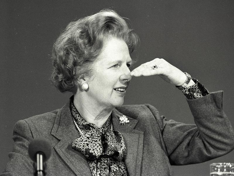 Margaret Thatcher 1986 (REUTERS)
