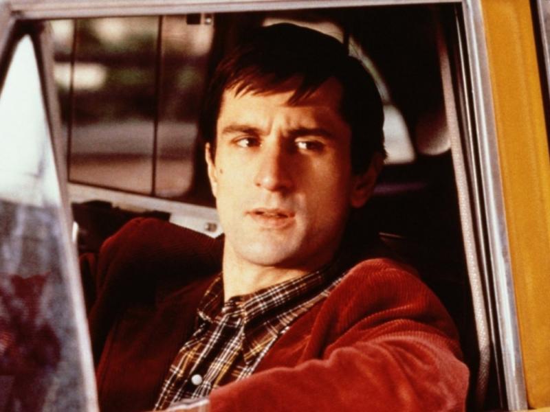 Robert De Niro em «Taxi Driver»
