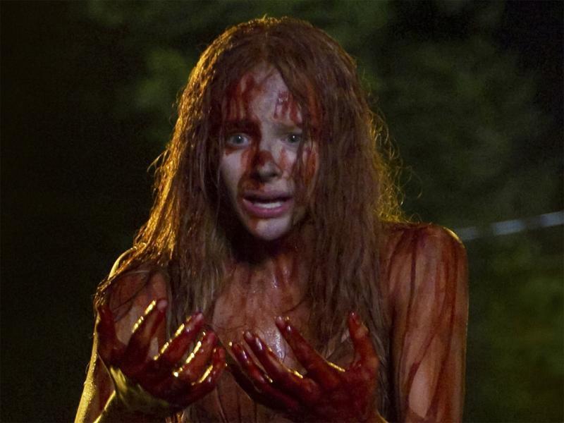 Chloë Grace Moretz em «Carrie»