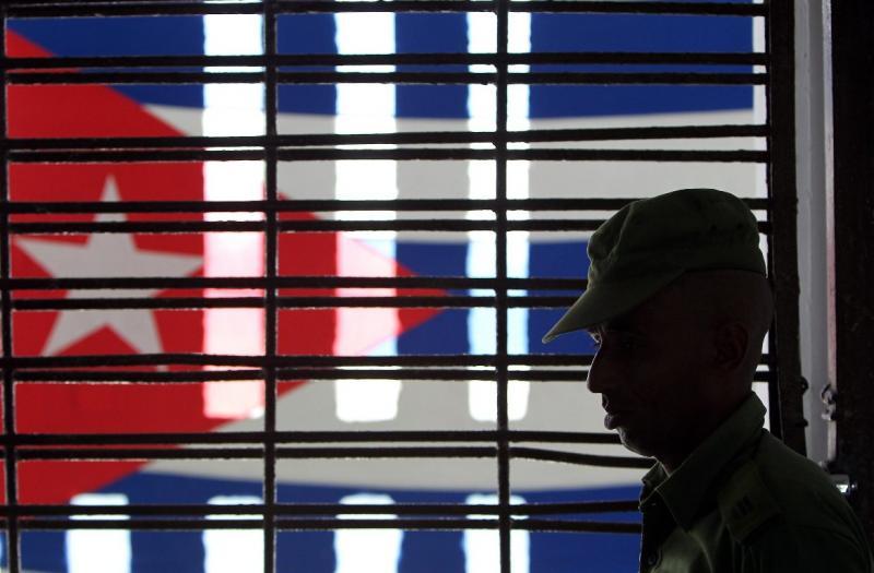 Visita guiada às prisões de Cuba (foto Lusa/EPA/Alejandro Ernesto)