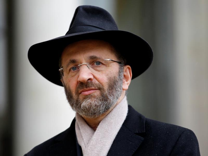 Grande rabino da França, Gilles Bernheim (REUTERS)