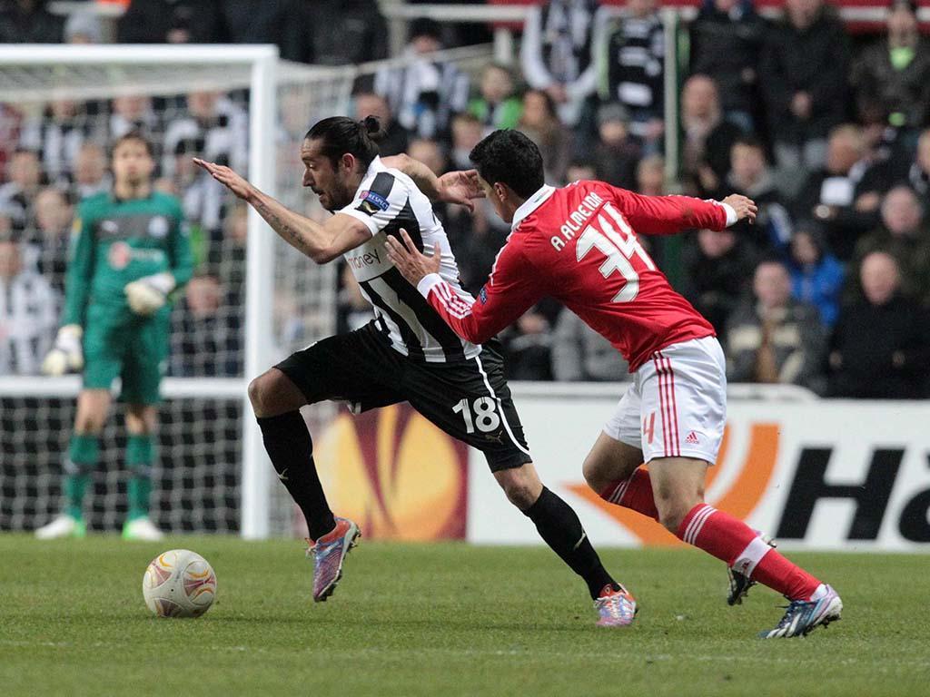 Newcastle vs Benfica (EPA)