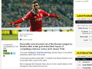Newcastle-Benfica (BBC)