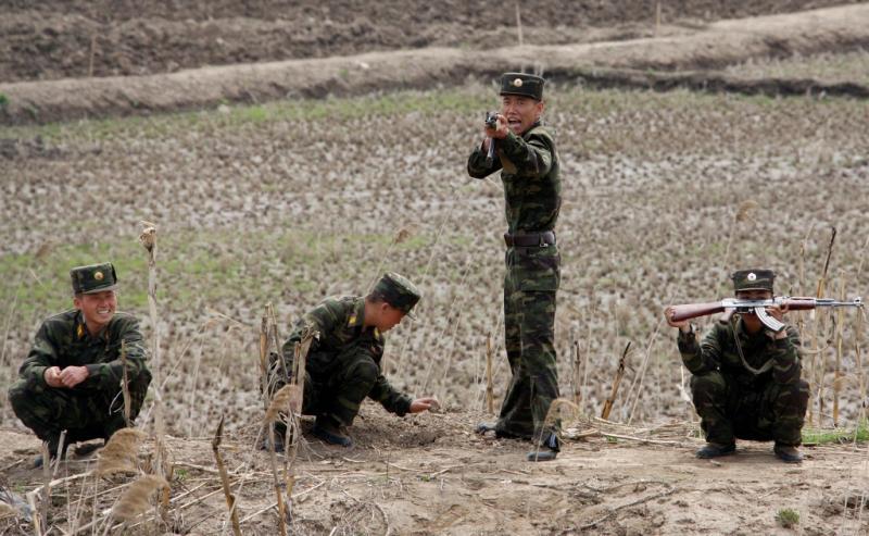 Imagens do quotidiano na Coreia do Norte (Reuters)