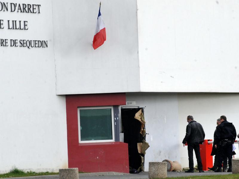 Preso francês escapa da cadeia (EPA/P.PAUCHET)