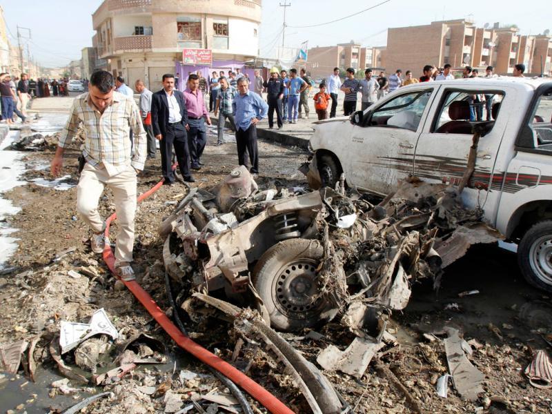 Vários atentados fazem mais de 30 mortos e 200 feridos no Iraque (Reuters)