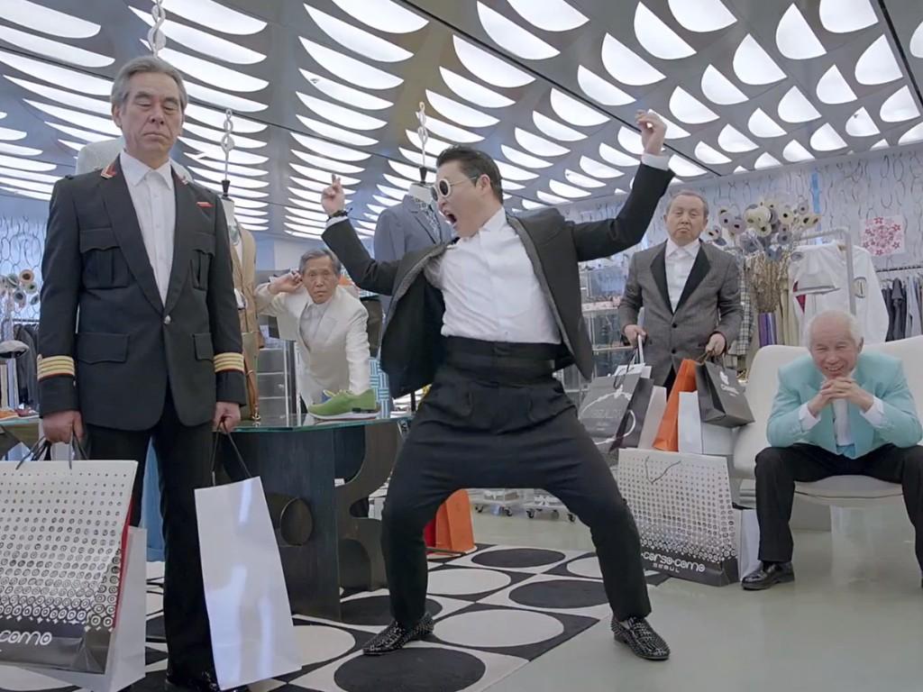 «Gentleman», o novo vídeo de Psy