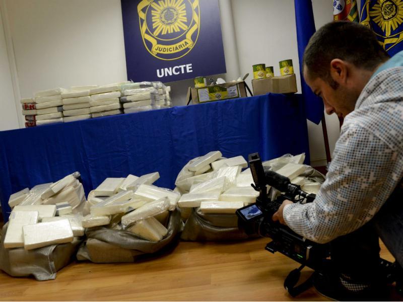 Apreendidos 486 quilos de cocaína no Porto de Lisboa (LUSA)