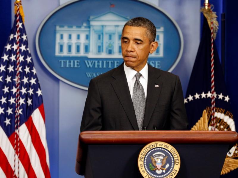 Barack Obama em conferência sobre bombas em Boston (Reuters)