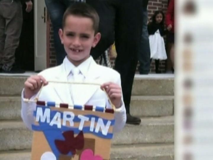 Vítima do atentado em Boston, Martin Richard