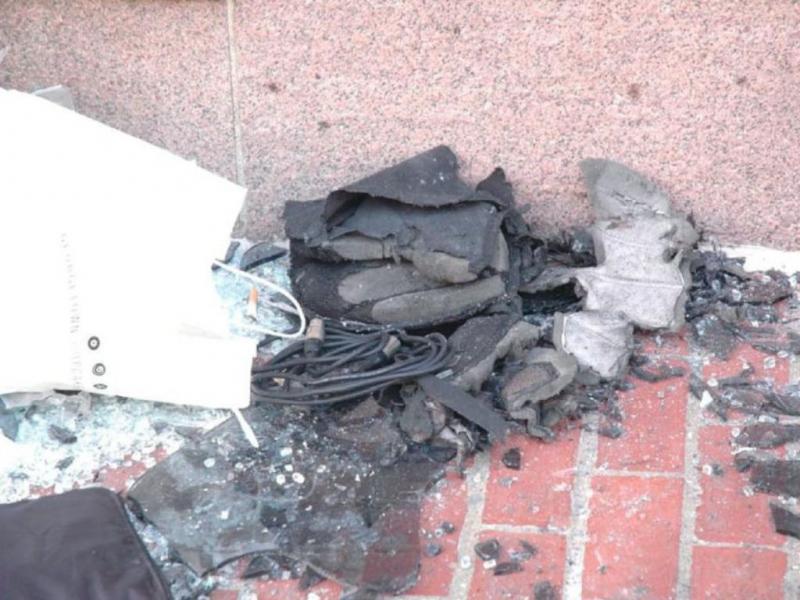 O que sobrou das bombas [Reuters]