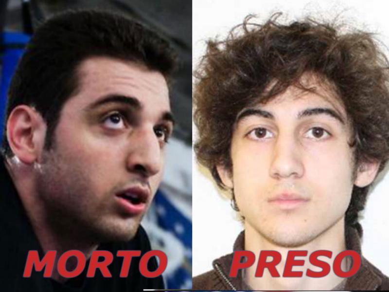 Irmãos Tsarnaev foram alvo de buscas intensas da polícia: um morreu, outro foi capturado